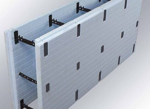 ICF blok (insulated concrete form)